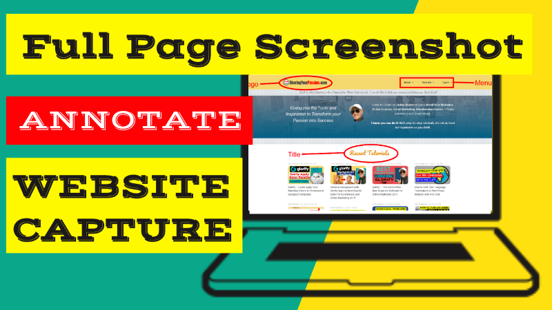 How to Take Full Page Screenshots of Webpage Capture and Annotate It