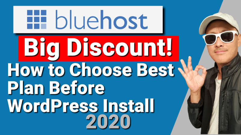 Bluehost Big Discount Coupon Promo for Website Host Free Domain