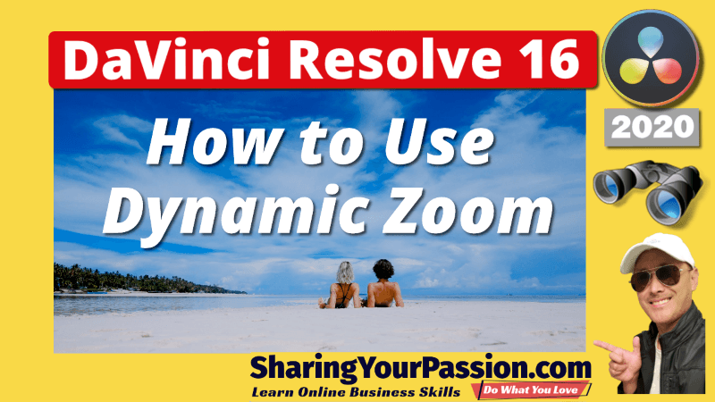 Dynamic Zoom and Pan - DaVinci Resolve