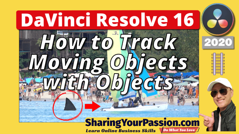DaVinci Resolve Tracking Moving Objects with Object